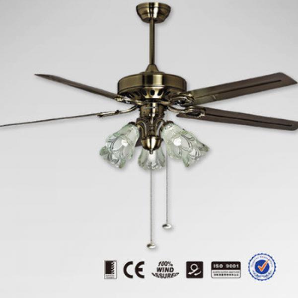 Metal Blade Decorative Ceiling Fan